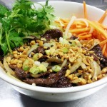 Vermicelli with Lemongrass Beef